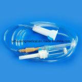 Infusion en plastique remplaçable approuvée d'ISO/Ce avec le pointeau