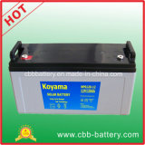 Batterie d'énergie solaire de la qualité 12V120ah de Koyama