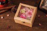 El rectángulo de regalo de madera de Ivenran preservó la flor fresca para el regalo creativo