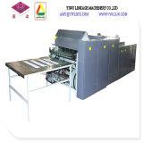 Chaîne de production obligatoire de livre d'exercice d'agrafe complètement automatique de papier de fil de deux bobines machine de Ld1020p