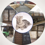 Limpar e maca de gato do Bentonite de Clumpling