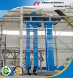A máquina de granulagem do fertilizante do cloreto do potássio, reduz a poluição da poeira