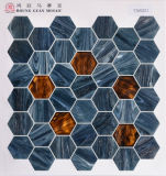 Hexigonの床タイルの石のタイルの大理石