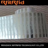 Résistance à l'étiquette électronique d'IDENTIFICATION RF d'alcali
