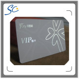 Tarjetas plásticas laminadas superficie mate modificadas para requisitos particulares del PVC VIP