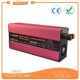 Invertitore di CC 48V dell'invertitore 1000W di potere di prezzi di fabbrica di Suoer (SQA-1000B)