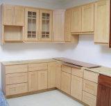 Module de cuisine de meubles de cuisine en bois solide de bouleau