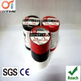 Fita de PVC da embalagem da caixa de cor com núcleo interno plástico para Protecing elétrico