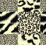 кожа Pigment&Disperse леопарда 100%Polyester напечатала ткань для комплекта постельных принадлежностей
