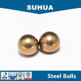 Esfera contínua G200 da esfera de bronze de H62 2.5mm