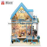 Huis van Doll DIY van jonge geitjes het Miniatuur Houten