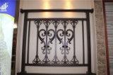 Balcón de acero galvanizado decorativo de alta calidad 28 que cercan con barandilla de la aleación de Haohan Alluminum