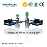 Prix principal de laser de découpage en métal Js2807 de machine de découpage de laser