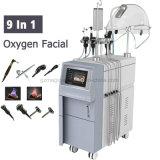 A0621 9 multifunzionali in 1 macchina del Facial della buccia del getto dell'ossigeno di rigenerazione della pelle