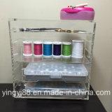 Organizador de acrílico cristalino del maquillaje para la venta