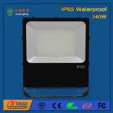 Luz de inundação ao ar livre do diodo emissor de luz de 240W SMD 3030 transparentes