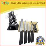 セットされる卸し売りジルコニアの台所ツールの陶磁器のナイフ(RYST0090C)