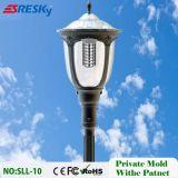 Horizontal solaire de bonne qualité pour la lumière de mur avec le détecteur de mouvement IP65
