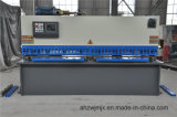Do balanço hidráulico do CNC de QC12k 16*3200 máquina de corte
