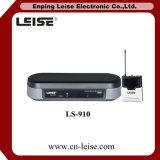 Микрофон радиотелеграфа UHF звука одиночных каналов Ls-910 хороший