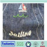 El verano bordó el casquillo común partido del compartimiento del bebé de la tela cruzada del algodón de Jean