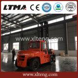 Ltma 최고 포크리프트 상표 10 톤 디젤 엔진 지게차