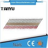 45 # acero con tratamiento térmico electro-galvanizado metal Conector Nails