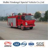 type euro 4 de réservoir de l'eau 5ton de camion de pompe à incendie d'Isuzu