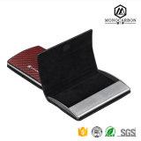 Caixa de cartão útil luxuosa da fibra do carbono para a venda quente do cartão em China