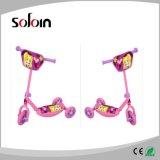 調節可能な子供Foldable PVC/PP 3の車輪の蹴りのスクーター(SZKS021)