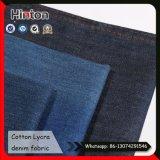 Coton Lycra Slub Denim Fabric pour jeans