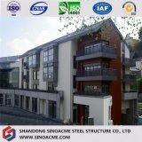 Edifício Multi-Storey pre projetado do hotel do aço estrutural