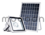 Outdoor IP65 Integrated Die Cast Aluminium 50W Solar LED Flood Light para o pátio