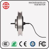 Motor eléctrico sin cepillo 250W 48V modificado para requisitos particulares -800W del eje de la bicicleta de la rueda de BLDC 16inch