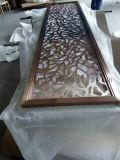 Prijs 304 van de Fabriek van Foshan het Scherm van de Kunst van de Verdeling van de Decoratie van het Roestvrij staal van de Kleur van het Brons voor de Verdeler van de Zaal