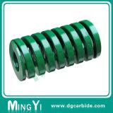 Verde feito sob encomenda da mola do molde da elevada precisão
