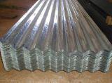 屋根ふきのための建築材料のアルミニウム亜鉛上塗を施してある波形の鋼板