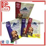 La bolsa de plástico Ziplock del papel de aluminio para los bocados y el alimento de animal doméstico