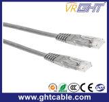 cuerda de corrección de Al-Magnesio RJ45 UTP Cat5 de los 5m/cable de la corrección