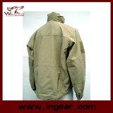 Rivestimento dello zigrino del motociclo del cappotto di inverno degli uomini militari del rivestimento