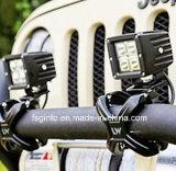 Schwarze Aluminiumhalterung für SUV nicht für den Straßenverkehr JeepWrangler