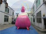거대한 팽창식 Unicorn, 팽창식 옥외 광고 임대료