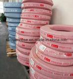 Tubo flessibile di gomma flessibile Braided dell'olio idraulico del tubo flessibile