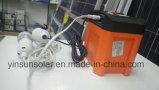 gerador solar portátil da alimentação de DC 12V para fornecer a alimentação de DC