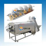 Моркови картошки щетки Lxtp-3000 слезая моющее машинау с подавая транспортером