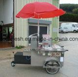 Rimorchio del chiosco/hot dog di Charriot/carrello dell'hot dog/carrello alimento della via/rimorchio di approvvigionamento/rimorchio dello spuntino/stalla di Foodcart /Food/CE mobili carrello dell'hamburger