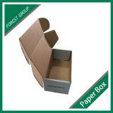 Pequeño Tamaño de Brown E flauta caja de cartón corrugado