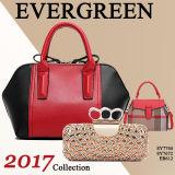 Borsa di cuoio del progettista delle 2017 delle signore del sacchetto dell'unità di elaborazione della mano donne di modo (SY7672)
