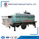 Bomba de entrega de concreto diesel 80m3 / H (HBT80SDA-1816)