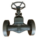 Hochdruck1500lb schmiedete Stahlenden-Kugel-Ventil des Flansch-A105